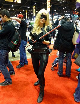 Fan als Black Canary tijdens Chicago Comic & Entertainment Expo, 2015