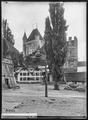 CH-NB - Thun, Schloss und Berntor, vue partielle extérieure - Collection Max van Berchem - EAD-6703.tif