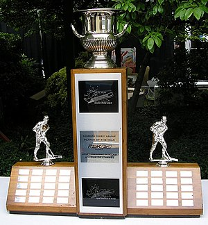CHL Player of the Year - The CHL Player of the Year award on display at the 2007 Memorial Cup.