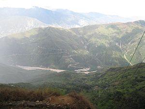 Chicamocha River - Chicamocha Canyon