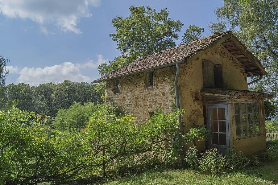 Cabane de vigne à Jujurieux