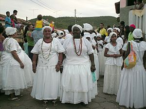 Candomblé - Candomblé practitioners in Bahia