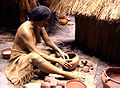 Cahokia diorama of pottery making HRoe 2010.jpg