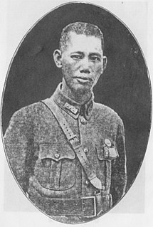 Cai Tingkai Chinese general