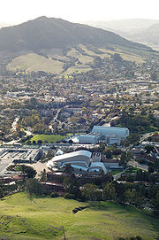 The south side of the Cal Poly campus