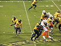 Cal on offense at 2008 Emerald Bowl 21.JPG