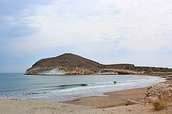 Cala entre playa de Monsul y Genoveses.JPG