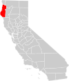 California county map (Humboldt County highlighted).svg