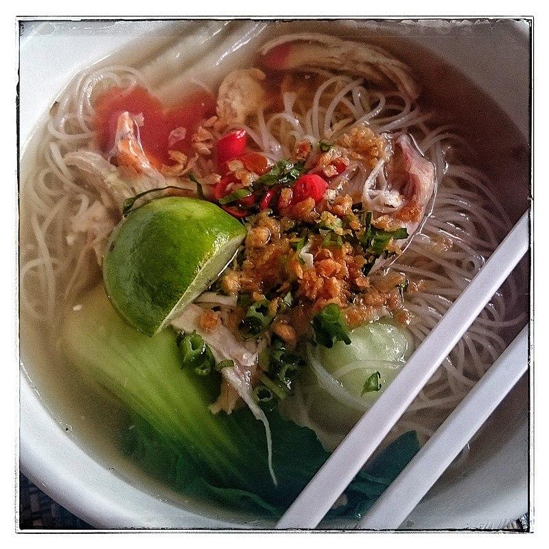 Cambodian breakfast (15959719060).jpg
