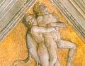 Camera picta, pennacchi, Ercole e Anteo 02.jpg