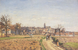 View of Pontoise