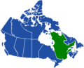 Canada carte du Quebec (transparentBLEU).png