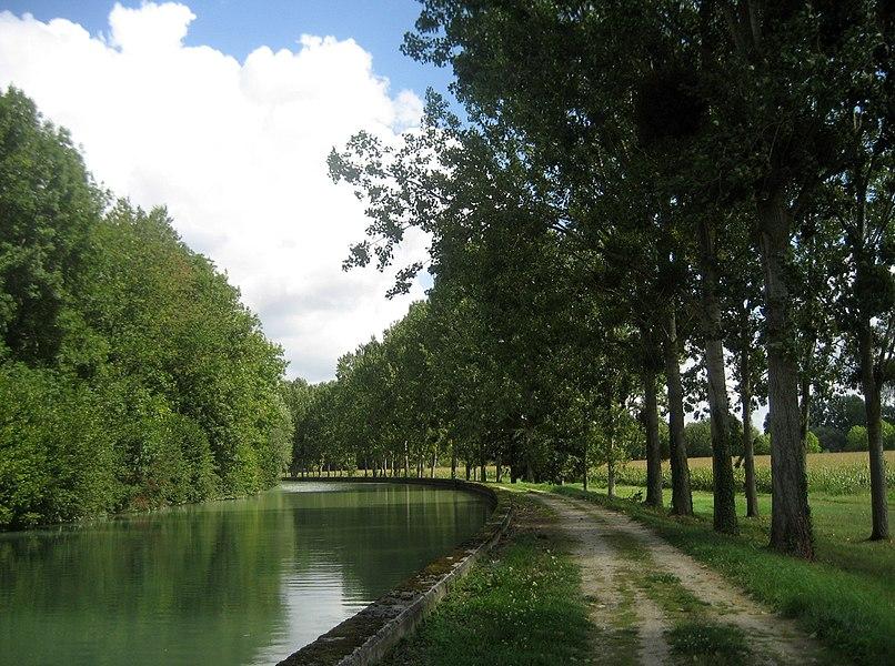 Canal latéral à la Marne, Condé-sur-Marne