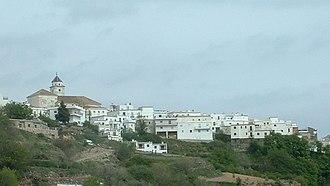 Cáñar - View of Cañar from the east