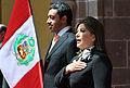 Canciller Eda Rivas se reunió con su homólogo de Emiratos Árabes Unidos (13889437068).jpg