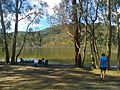Candlebark camp site facing the lake - panoramio.jpg