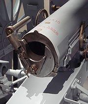 Canon de 75 breech mechanism