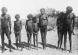 Aborygeni w Cape Dombey, Australia