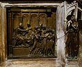 Captura del Baptista, Ghiberti, pila baptismal del baptisteri de Siena.JPG