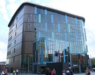 Libraries in Cardiff Wikimedia list article