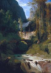 Gorge near Amalfi