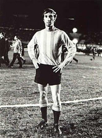 Carlos Bilardo - Bilardo as player.