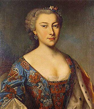 Caroline of Nassau-Saarbrücken - Image: Caroline of Nassau Saarbrücken, Countess Palatine of Zweibrücken