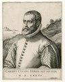 Carolus Clusius, botanicus, buste naar links PK-P-121.024, PK-P-102.002.tiff