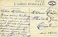 Carte postale - 31 - SURESNES - escalier rustique conduisant à la Gare (Longchamp) - Verso.jpg