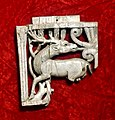 Carved ivory from Nimrud (Kalhu), deer, 9th to 7th century BCE. From Nimrud, Iraq. Iraq Museum.jpg