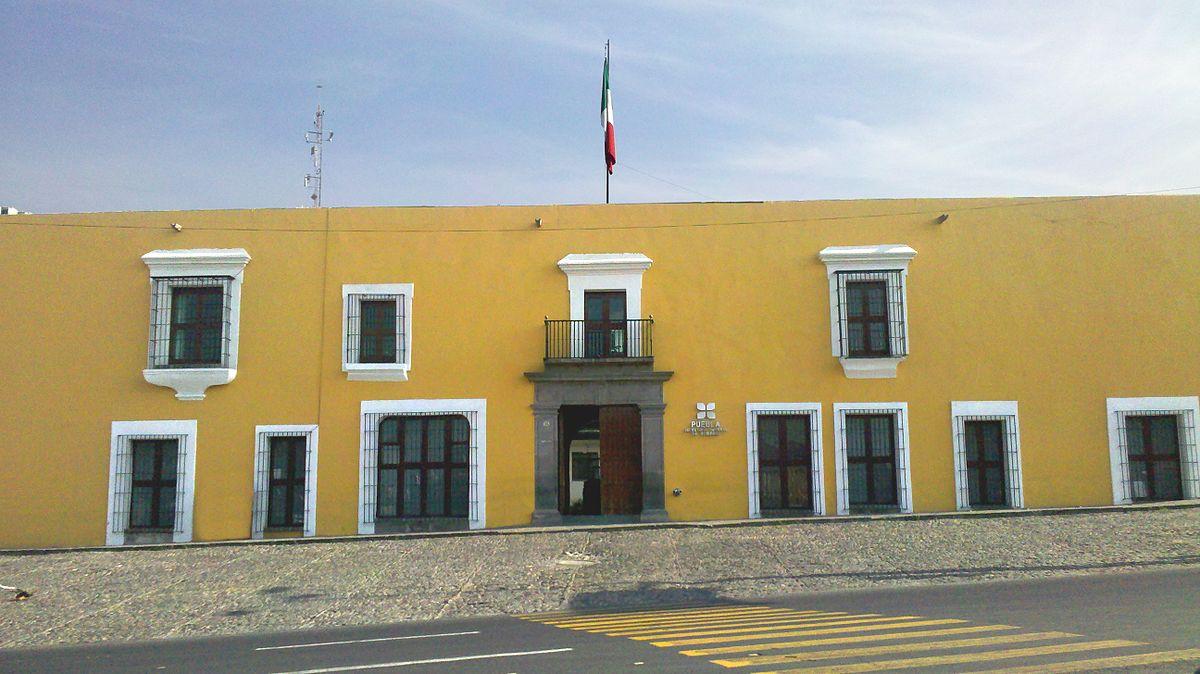 Casa Aguayo: sede el gobierno del estado de Puebla