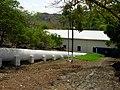 Casa de maquinas y tubo de aguas. Planta hidroelectrica San Luis.Santa Ana. - panoramio.jpg