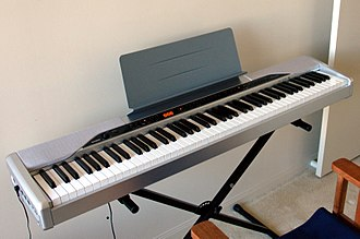 Privia - Image: Casio Privia PX 310 digital piano (warm clip 2)