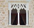 Castillo nuevo de Manzanares el Real - Window under Guas gallery.JPG