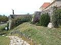 Castle of Vác. Statue of King Géza I.JPG