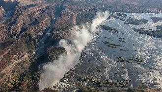 Victoria Falls - Aerial View