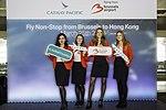 Cathay Pacific inaugural flight to Hong Kong (41024337861).jpg