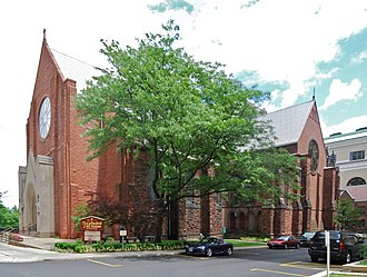 Cathedral of All Saints (Albany, New York) - Image: Cathedral Of All Saints Albany