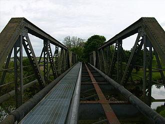 Eryholme–Richmond branch line - Catterick railway bridge