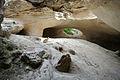 Cave under Tel Azeka 041314.JPG