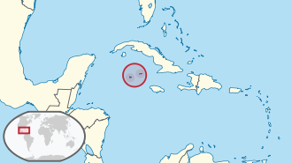 Cayman Islands in its region.svg