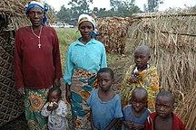 República Democrática del Congo-Grupos Étnicos-Cecilia and her family