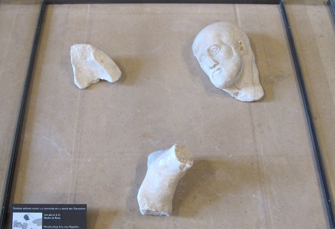 Héraclès et la ceinture d'Hippolyte