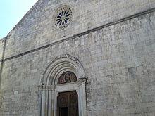 Facciata della chiesa di San Giovanni Battista