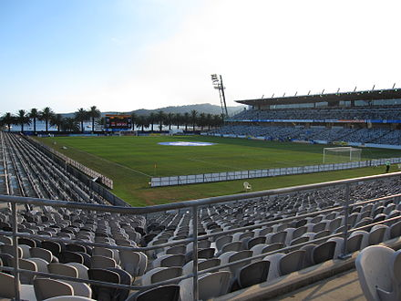 Central Coast Stadium, home ground of Central Coast Mariners Centralcoast stadium.jpg
