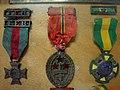 Centro de Documentação da II Guerra Mundial Cap. Enfermeira FEB Altamira Pereira Valadares. Medalha de Campanha, condecoração por atos de bravura ou companheirismo na 2º Guerra, Medalha Sangue do - panoramio.jpg