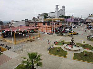 San Felipe Jalapa de Díaz - Town center of Jalapa de Diaz