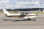 Cessna 182D Skylane (VH-RHR) taxiing at Wagga Wagga Airport.jpg