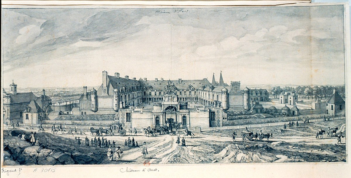 Chateau D Anet Wikipedia