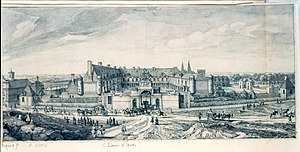 Château d'Anet - Anet in the 18th century